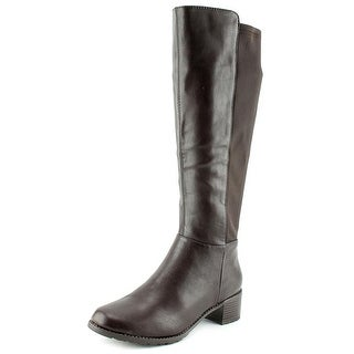 Madeline Franky Round Toe Synthetic Knee High Boot