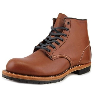 "Red Wing Shoes 6"" Beckman Men Round Toe Leather Brown Boot"
