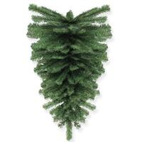 "32"" Canadian Pine Artificial Christmas Teardrop Swag - Unlit - green"