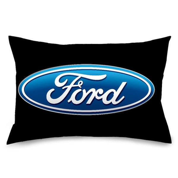 Ford Oval Logo Black Blue Pillowcase STANDARD