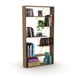 Link to SavaHome Tristana Bookcase Similar Items in Bookshelves & Bookcases