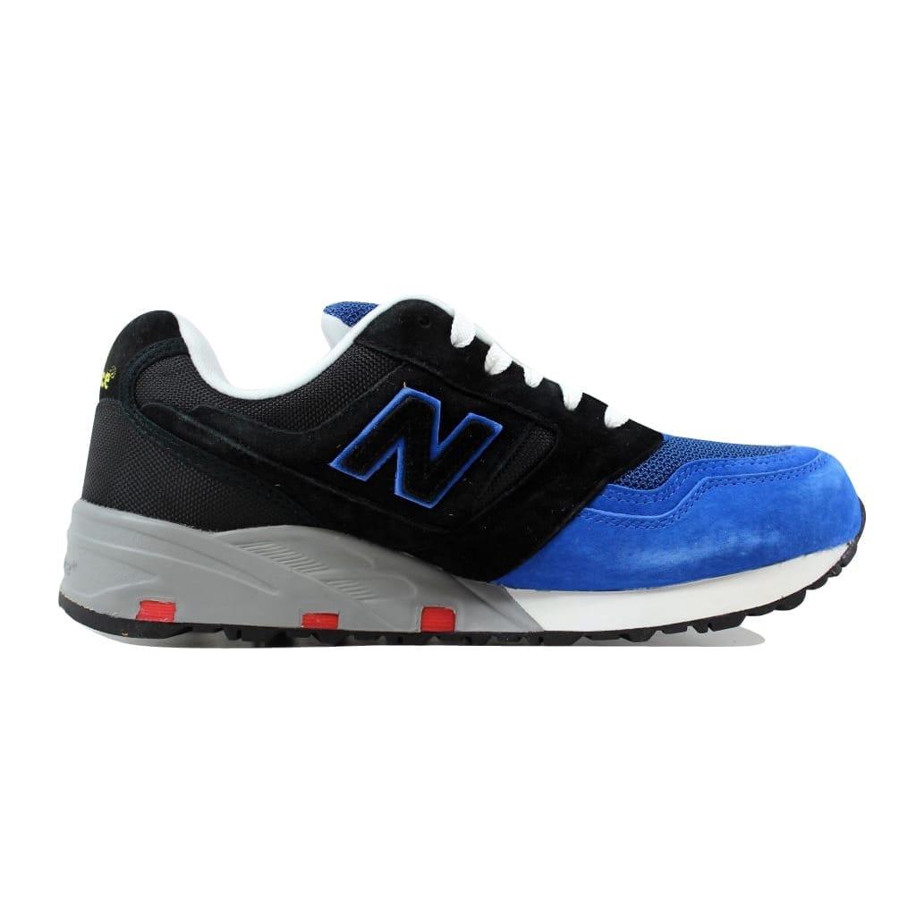 3316e5bbc4cae Shop New Balance Men's 575 Elite Blue/Black MD575EBB - Free Shipping ...