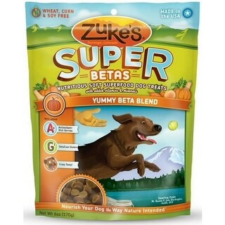 Zukes Super Food Yummy Betas Blend Dog Treats