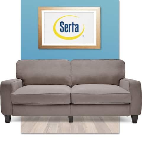 """Serta RTA Palisades Collection 73"""" Sofa in Kingston Gray"""
