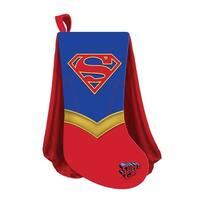 """DC Comics Supergirl with Cape Applique 19"""" Stocking"""