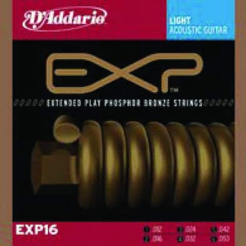 D'addario Light Phosphor Bronze Acoustic Strings