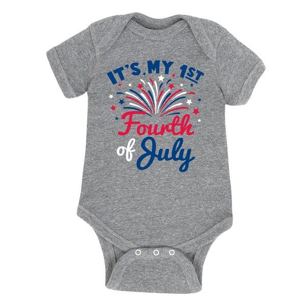 It's My First Fourth Of July - Infant One Piece