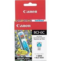 Canon BCI-6C Ink Cartridge -  Cyan Canon BCI-6C Cyan Ink Cartridge