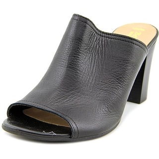 Bella Vita Arno WW Open-Toe Leather Mules