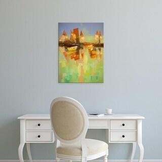 Easy Art Prints Vahe Yeremyan's 'Harbor' Premium Canvas Art