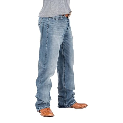 Tin Haul Western Denim Jeans Mens Stitched Blue