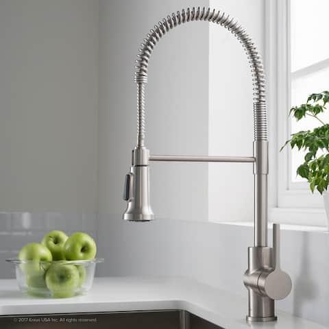 Kraus KPF-1690 Britt Commercial 2-Function Pulldown Kitchen Faucet
