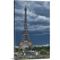 Premium Thick-Wrap Canvas entitled Paris, France summertime