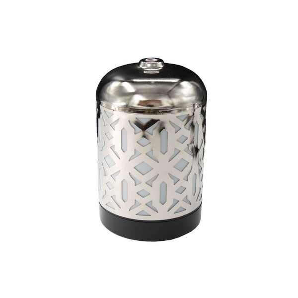 AmbiEscents JCP - Cankiri 100ml Ultrasonic Essential Oil Diffuser - Silver. Opens flyout.