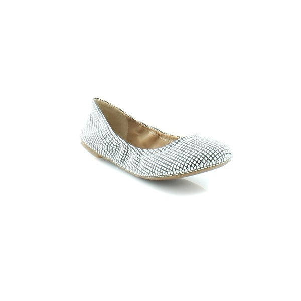 Lucky Brand Emmie Women's Flats & Oxfords Black White Shoji
