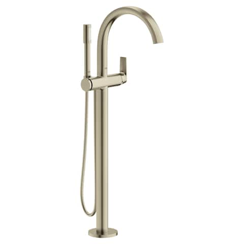 Grohe 29 302 Defined Free Standing Tub Filler with Built-In Diverter and Hand Shower -