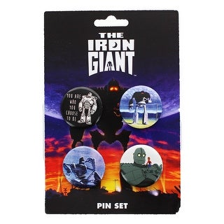 The Iron Giant Button 4-Pack