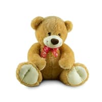 Beverly Hills Teddy Bear Company Sitting Bear with Bow 18""