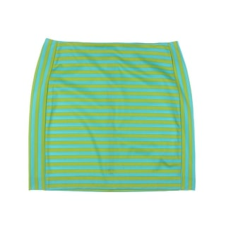 MICHAEL Michael Kors Womens Striped Casual A-Line Skirt - 12
