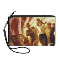 Operation Sin Issue #3 Peggy Carter Group Marching Cover Pose Scientific Canvas Zipper Wallet