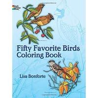 Dover - Coloring Book - 50 Favorite Birds