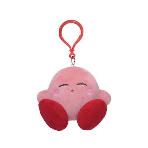 Kirby Nintendo 3.5 Inch Dangler Plush - Sleeping Kirby - Multi