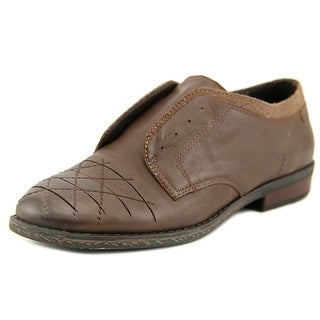OTBT Thayer Round Toe Leather Oxford
