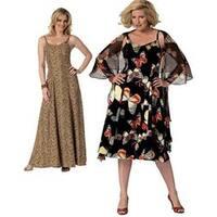 Woman (Xxl-1X-2X-3X-4X-5X-6X) - Misses'/Women's Wrap And Dress