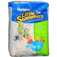 HUGGIES Little Swimmers Small 16-26 LBS 12 Each [8 packs per case]