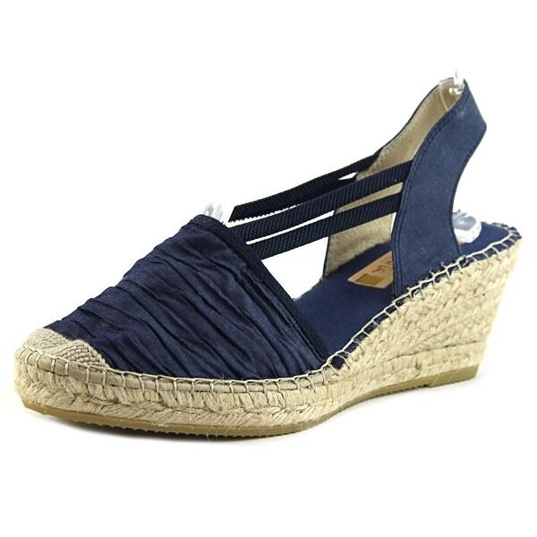 Vidorreta Sherri Women Round Toe Synthetic Blue Slingback Heel