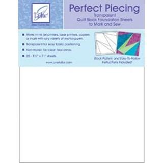 "8.5""X11"" 25/Pkg - Perfect Piecing Quilt Block Foundation Sheets"