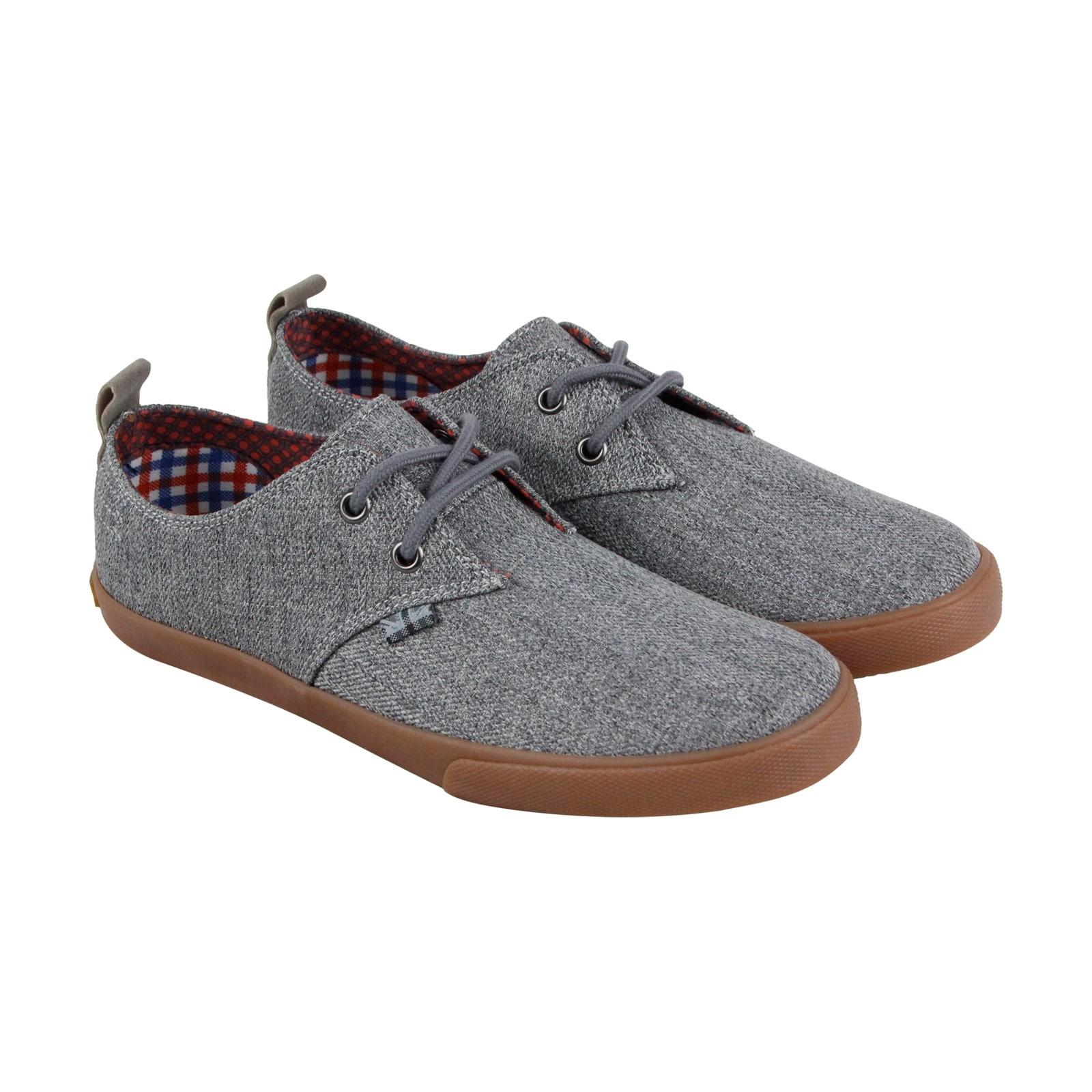 Ben Sherman Bristol Mens Gray Textile