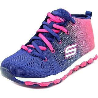 Skechers Glitterama Youth Round Toe Canvas Blue Sneakers