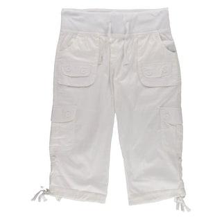 Helium Womens Capri Pants Rolled Classic Fit - XL