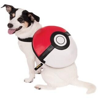 Pokemon Poke Ball Backpack Pet Costume