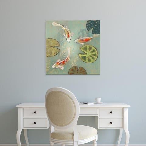 Easy Art Prints Aleah Koury's 'Floating Motion II' Premium Canvas Art