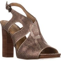Nine West Misspriss Ankle-Strap Sandals, Bronze/Light Natural