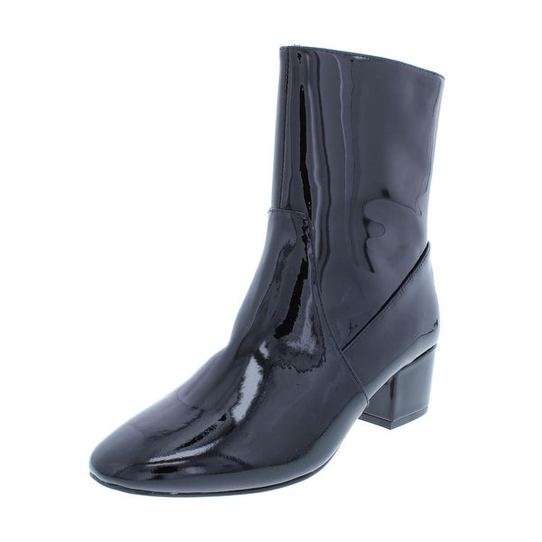 1d9ad1383d7e7 Shop Botkier Womens Gable Ankle Boots Patent Leather Round Toe ...