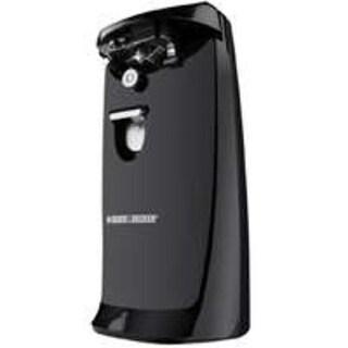 Black & Decker EC475B-2 Extra-Tall Electric Can Opener/Knife Sharp, Black
