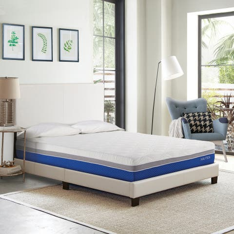 "Nautica® 10"" Calm Cushion Firm Gel Memory Foam Mattress"