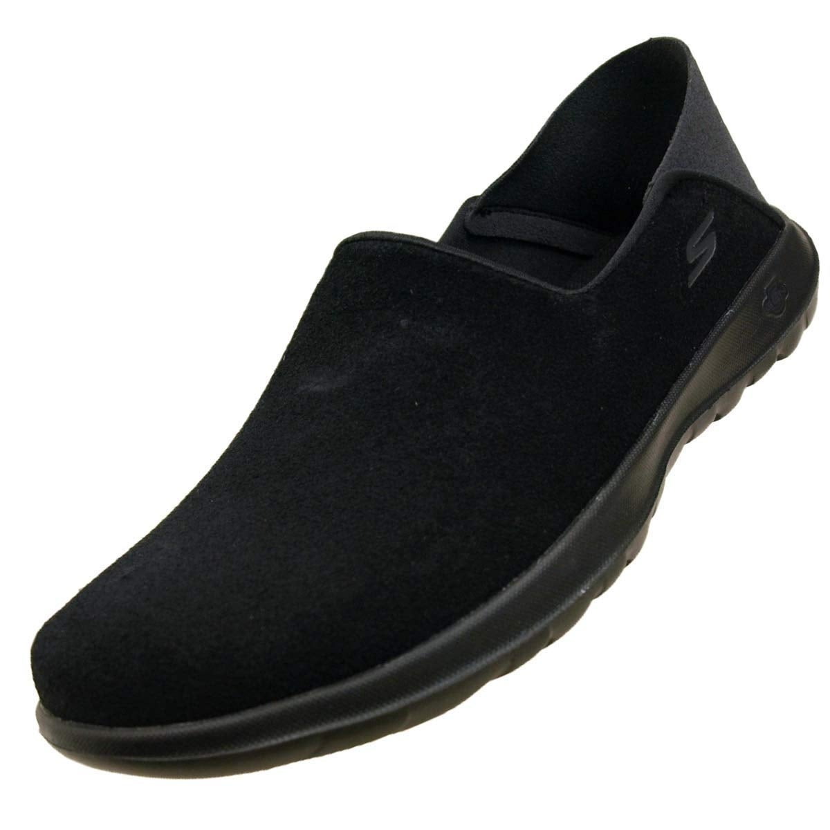 Skechers Women's Gowalk Lite Cozy, Walking, Black, 10 Us M
