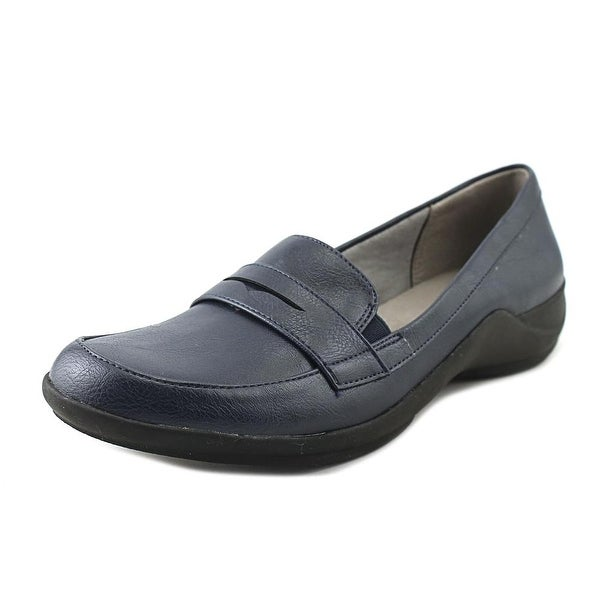 Life Stride Mala Women Round Toe Synthetic Blue Loafer