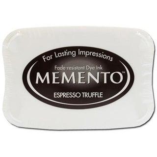 Tsukineko Memento Ink Pad Espresso Truffle