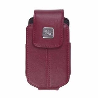 Blackberry - Leather Swivel Holster for Blackberry 8220 8230 - Merlot