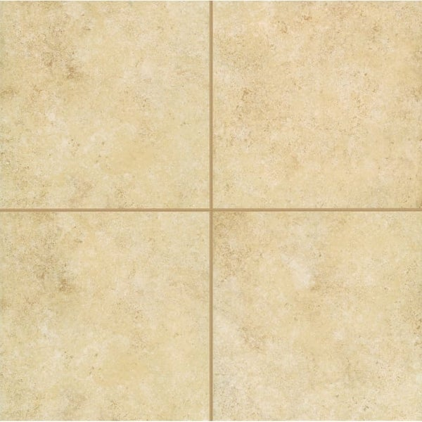 Mohawk Industries 14977 Gold Shell Ceramic Multi Surface Tile 18 Inch X Inc
