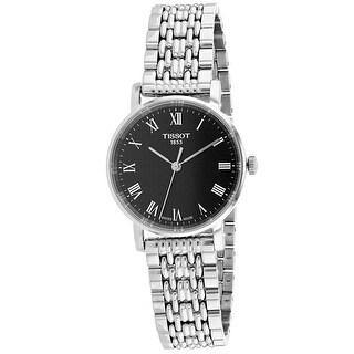 Tissot Women's Everytime Black Dial Watch - T1092101105300
