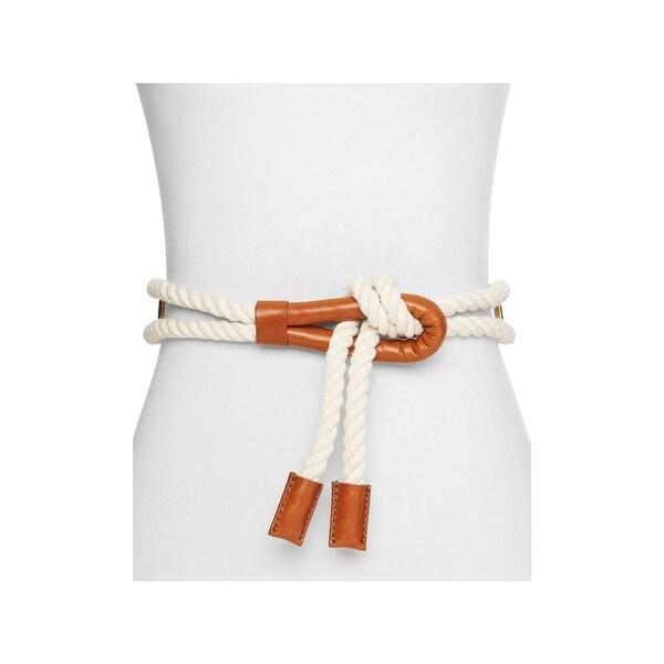 Frame Denim Womens Fashion Belt Embellished Rope - o/s