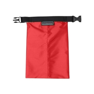 Seam-Sealed Ripstop Pouch - Warm Red - One Size