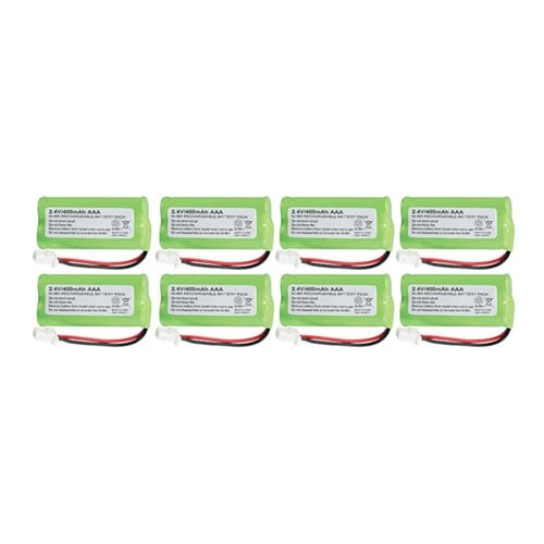 Replacement AT&T BT183342 Battery for CL84202 / TL96506 Phone Models (8 Pack)