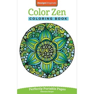 Design Originals-Color Zen Coloring Book